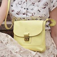 5bb6b0a67079 Желтая Кожаная Женская Сумка — Купить Недорого у Проверенных ...