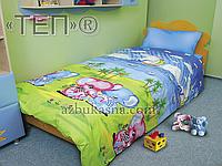 Подростковое постельное белье 537 «Слоники» ТМ ТЕП (Украина) Бязь полуторное