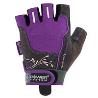 Женские атлетические перчатки Power System PS-2570 WOMANS POWER фиолетовый