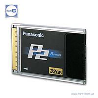 Карта памяти P2 Panasonic AJ-P2C032RG