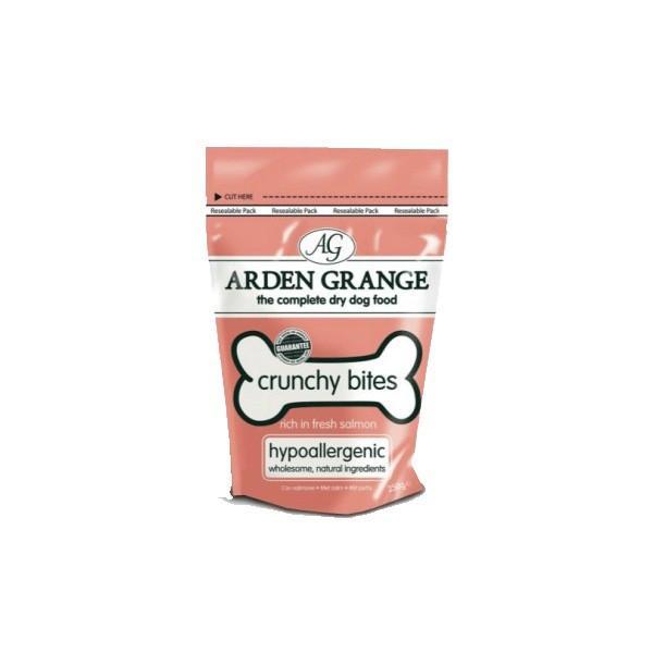 Arden Grange CRUNCHY BITES 250 г - хрустящее лакомство для собак с лососем