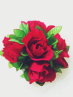 Подарочный букет из конфет ручной работы Букет Троянд
