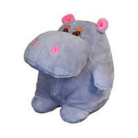 Мягкая игрушка Бегемот Гоша большой 36см (006)
