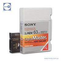 Видеокассета DVCAM Sony PHDVM-63DM