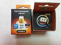Лампочка светодиодная VIDEX MR16 5W GU5.3 3000K