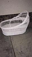 Люлька коляска переносная белая