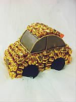 Подарочный букет из конфет ручной работы для малышей - Тачка