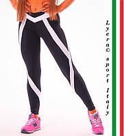"""Спортивные женские легинсы NOVA VEGA """"Angel"""", леггинсы для бега, лосины для йоги, фитнеса, спортзала"""