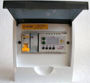 """Автоматика GAZDA G351-1-5 электромеханическая """"Люкс"""" для 1-фазных систем до 5 кВт, фото 2"""
