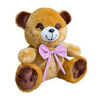 Мягкая игрушка Медведь Тимка маленький 26см коричневый (419-1)