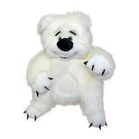 М'яка іграшка Ведмедик Медовик маленький 43см білий (118-1)
