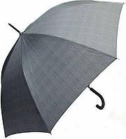 Мужской эффектный зонт-трость, полуавтомат DOPPLER (ДОППЛЕР), коллекция DERBY (ДЭРБИ) 77267 P-1