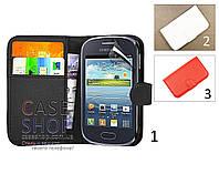 Чехол-бумажник для Samsung s6312 Galaxy Young Duos