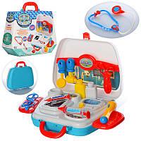 Доктор 16806 инструменты, 10 предметов, в чемодане