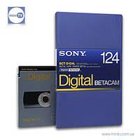 Видеокассета Digital Betacam Sony BCT-D124L