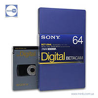 Видеокассета Digital Betacam Sony BCT-D64L