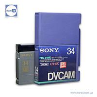 Видеокассета DVCAM Sony PDV-34ME