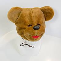 Дитяча маскарадна шапочка Zolushka ведмідь коричневий (237-1)