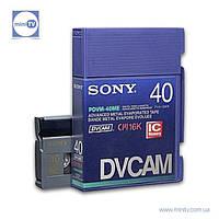 Видеокассета DVCAM Sony PDVM-40ME