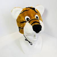 Дитяча маскарадна шапочка Zolushka тигр (406)