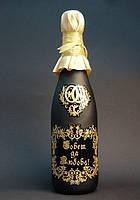 Примеры ручной гравировки бутылок