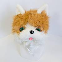 Дитяча маскарадна шапочка Zolushka кіт коричневий (235-1)