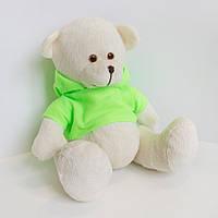 Мягкая игрушка Медвежонок Макки 19см молочный (555-3)
