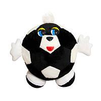 Мягкая игрушка Мячик с ручками 31см черно-белый (433-2)