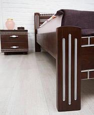 Кровать Пальмира с патиной Серебро (1600*2000), фото 2