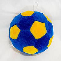 Мягкая игрушка Zolushka Мячик 21см сине-желтый (130-1)