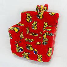Детский стульчик жаккард зайчики