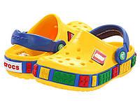 Crocs Kids Crocband LEGO Крокс Лего Оригинал из США, фото 1