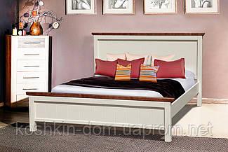 Ліжко двоспальне Беатріс 160*200 масив сосни