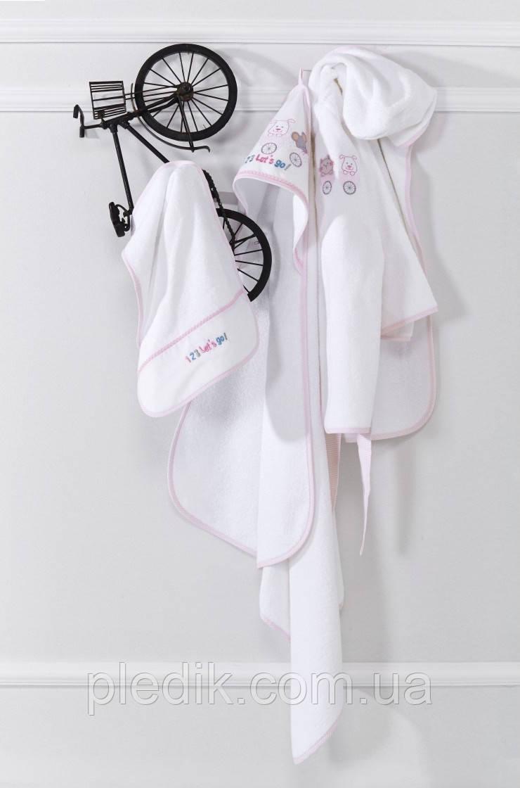 Детский набор с халатом для ванной Karaca Home CATS
