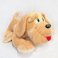 Мягкая игрушка Zolushka Собака Пуфик маленькая 45см (202)