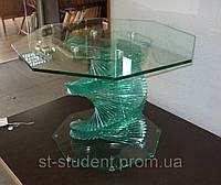 Стол стеклянный дизайнерский.  Арт. 3217-47