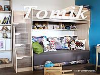 Кровать чердак Томик без дивана