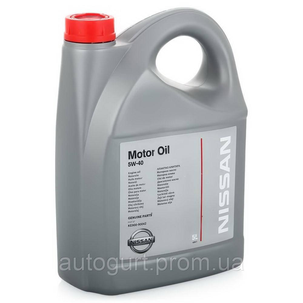 Nissan Motor Oil SL/CF 5W40 (5 л.)