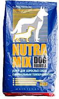 Корм для собак со средней активностью Nutra Mix Maintenance