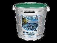 Формирование полимерных наливных полов Glass Floor Dur 2K
