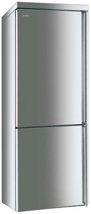 Холодильник отдельно стоящий Smeg FA390XS4 петли с лева