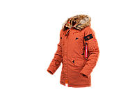 Мужская куртка аляска AIRBOSS Snorkel Parka  (оранжевая), фото 1