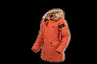 Мужская куртка аляска AIRBOSS Snorkel Parka  (оранжевая)