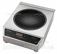 Плита индукционная Вок Profi Line 3100W, 340x450x120(H)мм