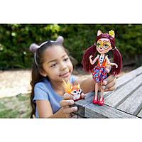Кукла-лиса Энчатималс Фелисити Фокс с питомцем  Enchantimals Doll and Animal Pack
