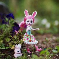 Кукла Энчантималс Бри Кролик с питомцем  Enchantimals Doll and Animal Pack - Bree Bunny and Twist Bunny