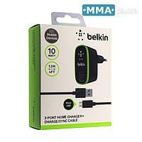 ЗАРЯДНЫЕ УСТРОЙСТВА BELKIN F8M670 MICRO USB (2USB)