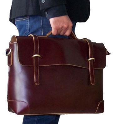 Коричневый мужской портфель картинка