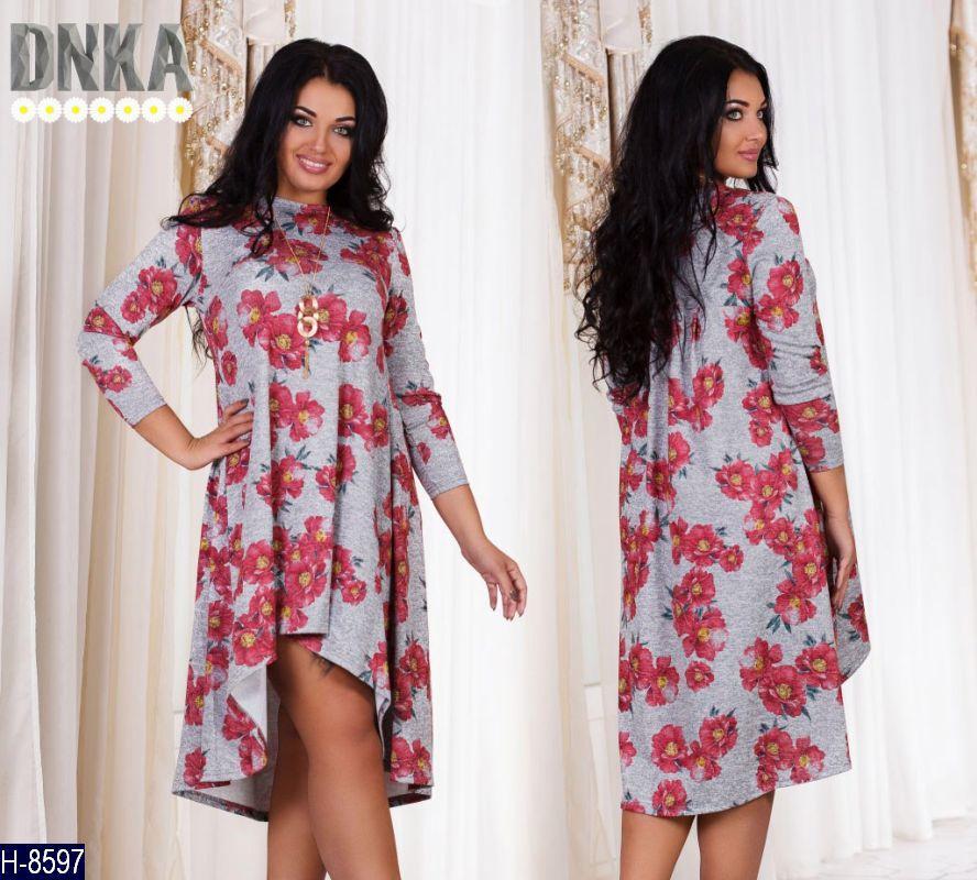 2c9a8a0a6abe Платье ангора софт кулон в комплекте Цвета на фото  продажа, цена в ...
