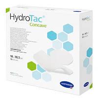 Hydrotac Concave / Гидротак поглощающая повязка с гелевым слоем, для области локтей и пяток, 13,5  х 15 см